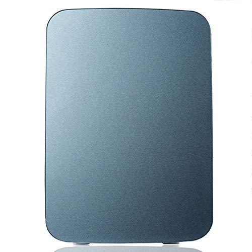 Mini Auto Kühlschrank Kühler \u0026 Wärmer Kühlschrank Heizung Lebensmittel Elektrische Tragbare Eisbox Travel Box Kein Kompressor für Camping (Farbe: Grau) (Camping-lebensmittel-heizung)