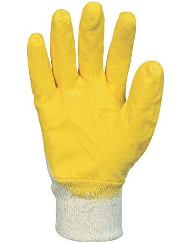 Goldex - 10 Paires Gant Nitrile Enduction 3/4 Ultra Légère Taille 10 * Nbr1126J