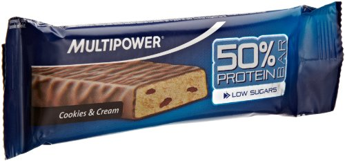 MULTIPOWER Barre Nutritionnelle Paquet de 24 x 25 g