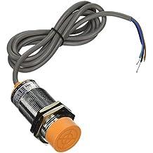 Sourcingmap a11031400ux0264 - Dc 6-36v 300ma ningún detector de proximidad capacitivo sensor del interruptor pnp 3 hilos 1-25mm