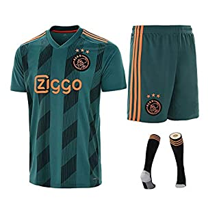 2019-2020 (Home) Soccer Jersey Kits T-Shirt & Shorts & Socks,Custom World Cup Fan Sports T-Shirt Football for Kids Youth Adult,Personalised Any Names and Numbers