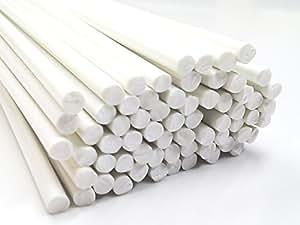 Plastique baguettes de soudure ABS Blanc 3mm Ronde 10 Barres