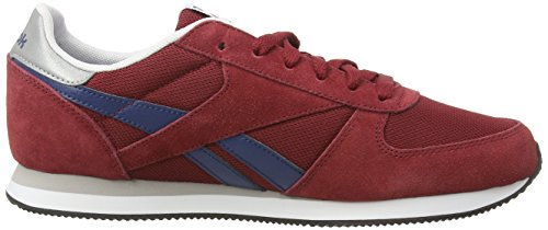 Reebok Classic Jogger, Baskets Basses Homme Rouge (triathlon Red/batik Blue/pprwht/wht/stl/blk)