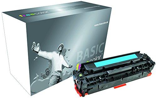 Preisvergleich Produktbild Freecolor Basic Toner für LaserJet 2025 Premium, 2800 Seiten, passend zu HP CC531A, cyan
