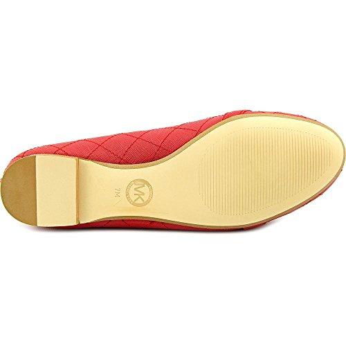 Michael Michael Kors Hamilton Moc Cuir Chaussure Plate red