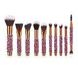Banbie Make-up Pinsel Professionelles Make-up Pinsel Set Make Up Foundation Augenbrauenpinsel
