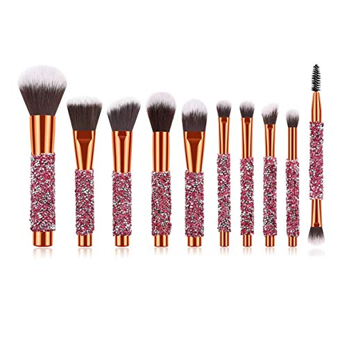 Banbie Make-up Pinsel Professionelles Make-up Pinsel Set Make Up Foundation Augenbrauenpinsel