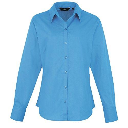 Premier - Camicia Maniche Lunghe - Donna Turchese - turchese