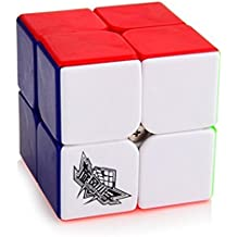 Cyclone Boys Speed Cube 2x2 Magic Puzzle Cube Stickerless Colorful El ciclón chicos Speed Cube 2x2 Magic Puzzle Cubo stickerless colorido