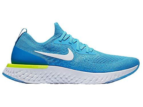 Nike McKinley Epic React Flyknit, blau(blueglowwhitephotobluevol), Gr. 9½ -