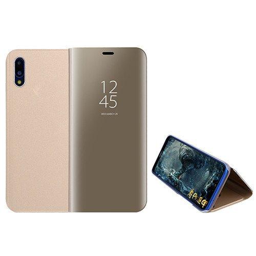 Funda® Espejo Enchapado Flip Xiaomi Mi 8 Pro (Oro)