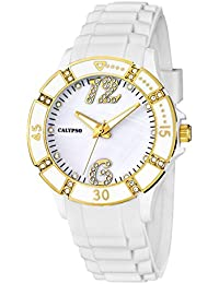 Calypso Uhr K5650/2–Armbanduhr Damen, Armband aus Kunststoff