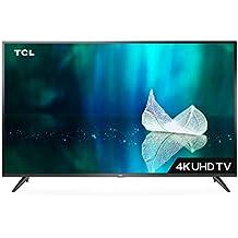 TCL 107.88 cm (43 inches) 4K Ultra HD Smart LED TV 43P65US-2019 (Black)   Built-In Alexa
