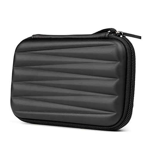 "Salcar HDD Borsa custodia rigida Case Esterno per 2.5"" Disco Rigido Hard Disk portabile nero"