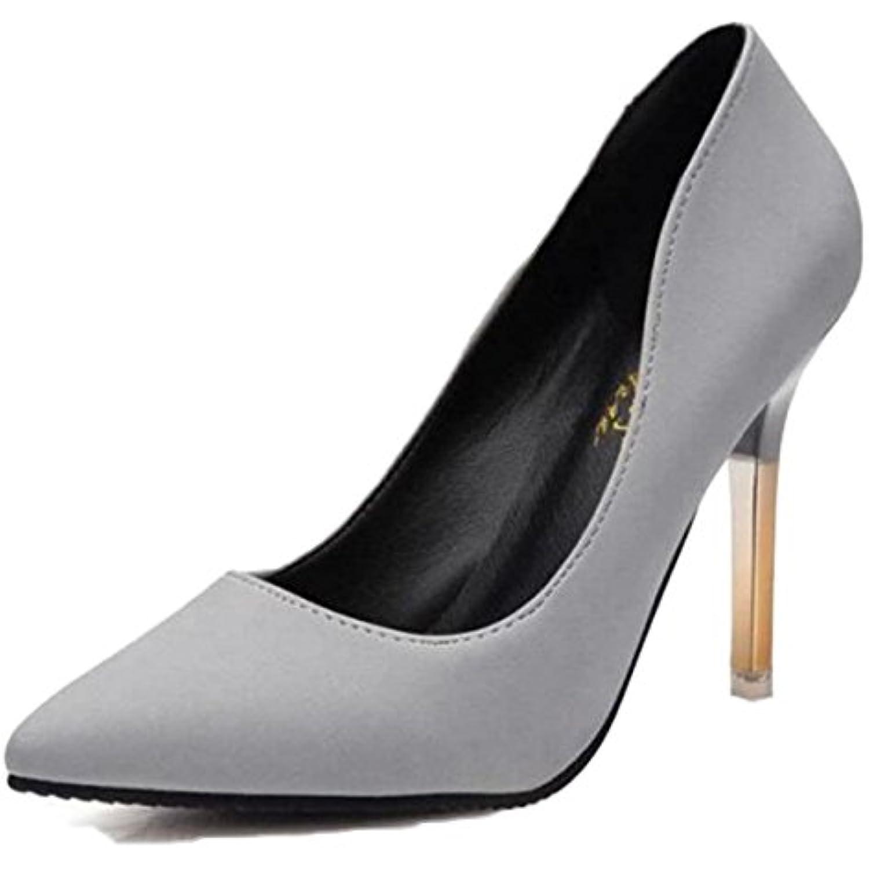 Femmes Femmes Femmes Stiletto Haut Talon Fermé Toe Court Shoes Chaussures De Soirée Sexy WoHommes 's Shoes Mode Femmes Night Club... - B07DTLJG9G - 19fecb
