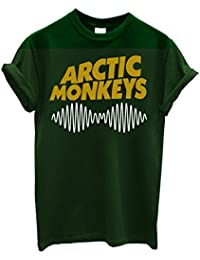 "Herren-T-Shirt ""Arctic Monkeys"" - T-Shirt indie rock bicolor 100% Baumwolle LaMAGLIERIA"