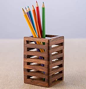 Worthy Shoppee Multi-Function Pen Holder Pencil Stand Organizer Storage (Multicolor)