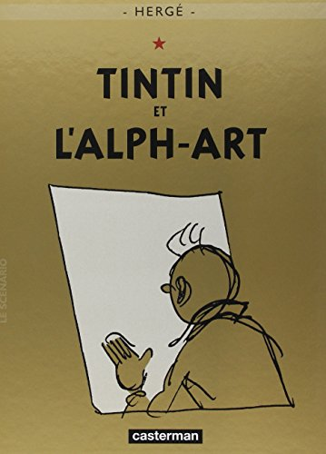 Les Aventures de Tintin, tome 24 : Tintin et l'Alph-art par Herge
