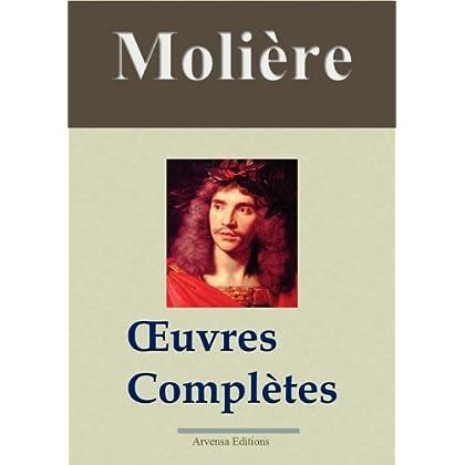 Molière : Oeuvres complètes et annexes - 45 titres (Nouvelle édition enrichie)