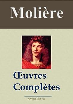 Molière : Oeuvres complètes et annexes - 45 titres (Nouvelle édition enrichie) par [Molière]