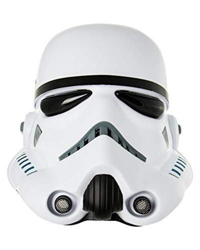 Horror-Shop Star Wars Stormtrooper Rogue One Helm (Star Feuer Kostüm)