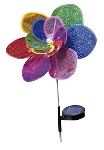 Solar-LED-Windrad mit Farbwechsel
