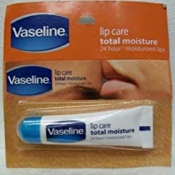 Vaseline Lip Care Total Moisture - 10 Grams (Pack Of 3)
