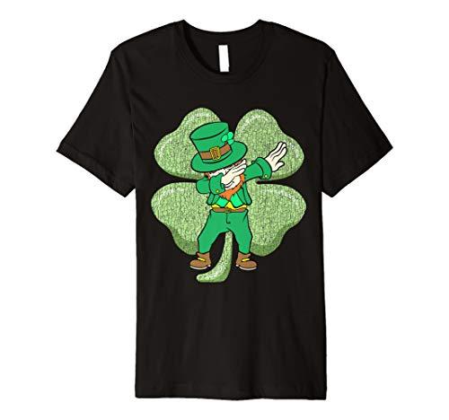 Klecks-Kobold-T-Shirt St. Patricks Tages Großes - Aller Heiligen Tag Kostüm