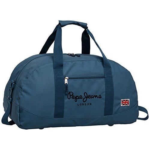 Pepe Jeans 6043551 Bolsa de Viaje, 27 Lt, Color Azul