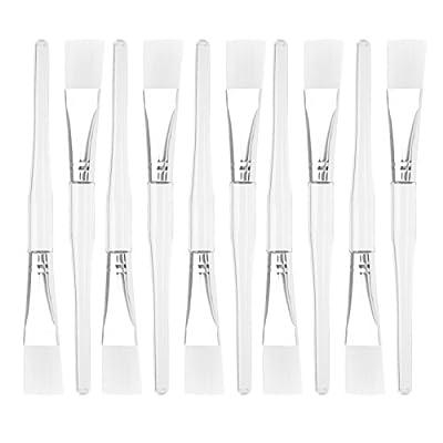 10tlg DIY Maskenpinsel Schminkpinsel Makeup Bürste Kosmetik Gesichtsmaske Pinsel von ENET bei TapetenShop