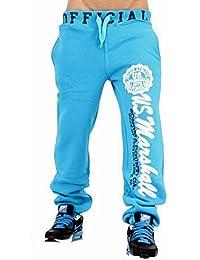 Original Marshall M-25 US Marshall Trainingshose Herren & Damen Jogginghose Sporthose Fleecepant Fitness Hose von Tisey®