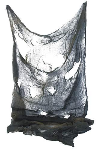 Smiffys Unisex Gruseltuch, 75cm x 180cm, One Size, Grau, 28478 (Halloween Dressing Für Up-outfits)