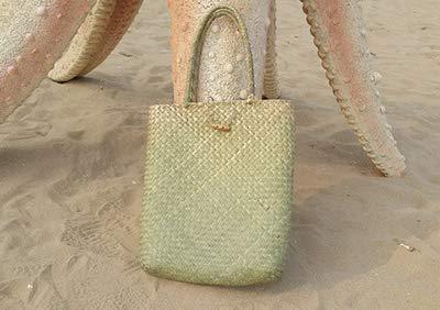 Bag-Haigeen Strandtasche Für Sommer Große Stroh Taschen Handgemachte Gewebte Tote Frauen Reisetaschen Designer ping Handtaschen Green