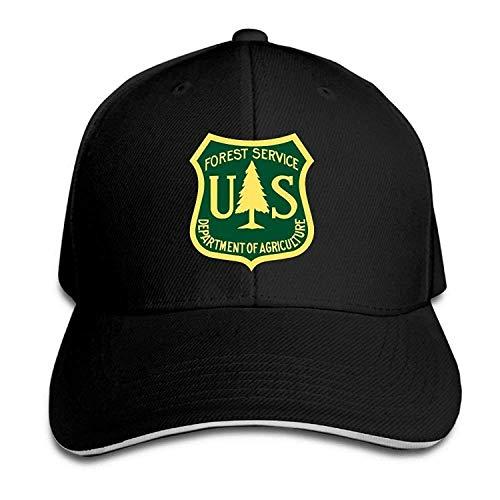 Osmykqe Retro US Forest Service Flag Sandwich Baseball Caps Summer Fishing Dad Trucker Hats GH660 -