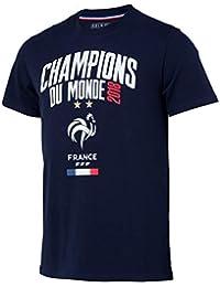 Selección de fútbol de Francia FFF – Champion del Mundo 2018 – Camiseta Oficial ...
