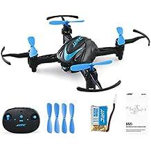 quadcopter kit de Sannysis 2.4G 6 - Axis Gyro Aerial RC Quadcopter Drone profesional baratos con Control remoto - Movimiento continuo en 3D de 360 grados - luz de fantasía (Azul)
