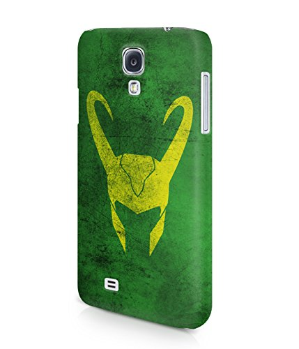 Loki God The Avengers Hero Plastic Snap-On Case Cover Shell For Samsung Galaxy S4