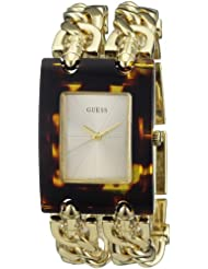 Guess Damen-Armbanduhr MOD Heavy Metal Analog Edelstahl 642W11605L1