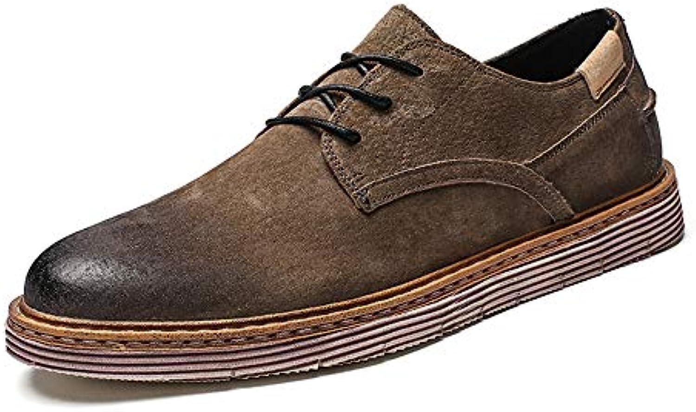 Yajie-scarpe store, Scarpe classiche da uomo con tacco a spillo retrò casual in pelle per camminare, vivere in... | Shopping Online  | Maschio/Ragazze Scarpa