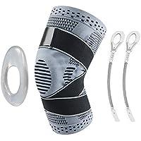 Wesho - Rodillera Profesional (versión Mejorada) Flexible y Transpirable, Modelo Universal, para Crossfit, Voleibol, Baloncesto, fútbol, Deporte [Talla M]