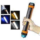 NOBLJX Multifunktionale LED Camping Light Outdoor Taschenlampe IP68 Wasserdichte USB wiederaufladbare Batterie SOS Camping Lantern Outdoor Emergency Mobile Power 6 Modes