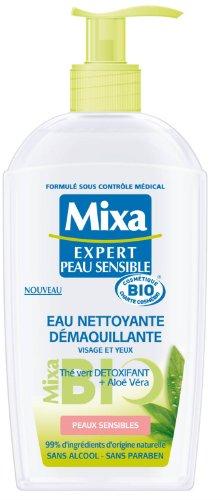 Mixa Bio Expert Peau Sensible Eau Nettoyante Démaquillante 200 ml