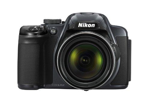 Nikon Coolpix P520 Digitalkamera (18 Megapixel, 42-fach opt. Zoom, 8 cm (3,2 Zoll) LCD-Display, Bildstabilisator) anthrazit
