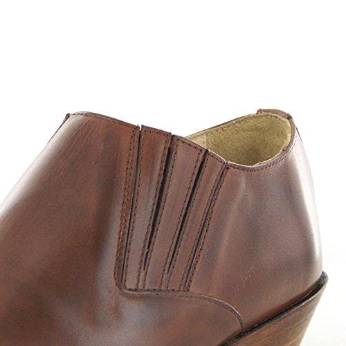 Sendra boots chaussures bottes 4133 westernschuhe (différents coloris) Marron - Marron