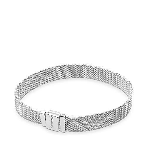 Pandora bracciale con targhetta donna argento - 597712-17