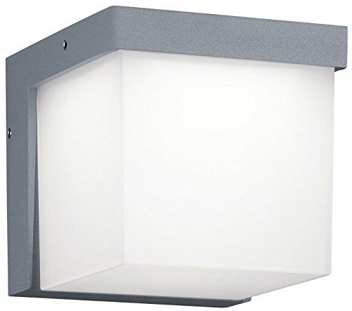 Trio Leuchten LED Außenleuchte Yangtze 228260187, Druckguss Aluminium titanfarbig, 1x 3.5 Watt