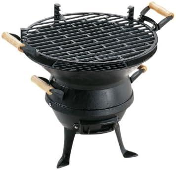 Landmann GrillChef 0630 - Barbacoa de sobremesa, 35 cm, color negro