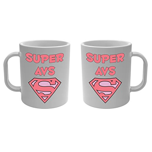 Yonacrea - Mug Tasse - Super AVS - Rose