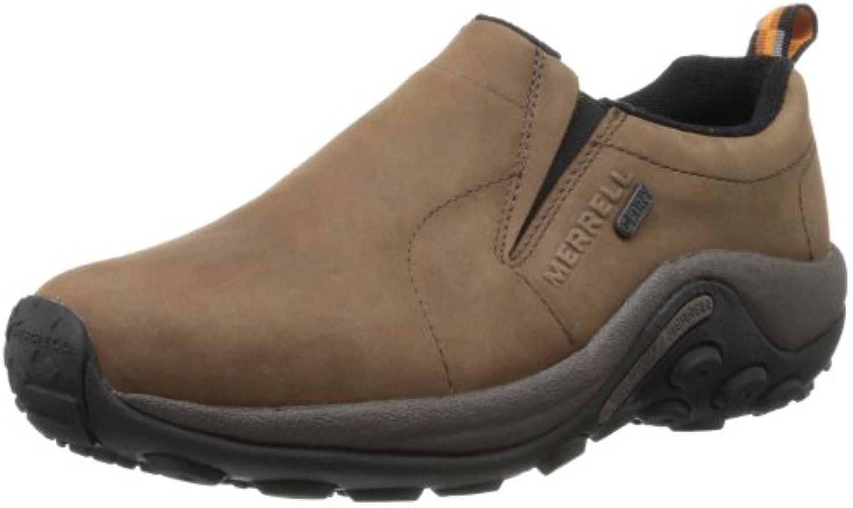 Merrell hombres Jungle Nubuck Waterproof Slip-On zapatos,marrón,11 M US  -
