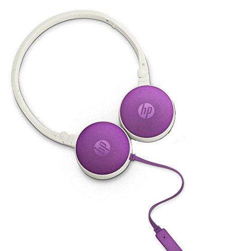 HP H2800 Earphones (Purple)
